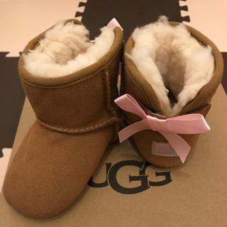 アグ(UGG)のUGG ベビー ムートンブーツ 12.5 バックリボン(ブーツ)