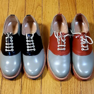 リーガル(REGAL)のリーガル REGAL サドルシューズ ロカビリー ママとおそろい 兄弟でおそろい(ローファー/革靴)
