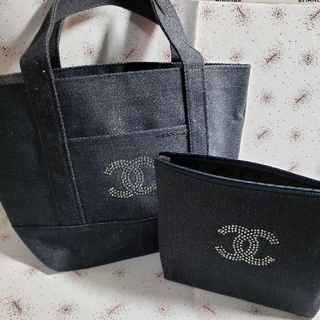 CHANEL - トート&ポーチ 2点セット🥰濃紺