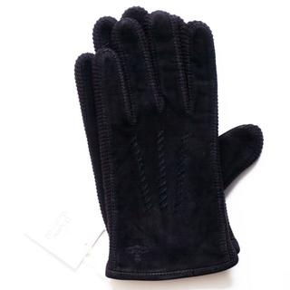 ヴィヴィアンウエストウッド(Vivienne Westwood)の新品 メンズ 羊革 スエード ニット BK ヴィヴィアン 手袋 SALE(手袋)