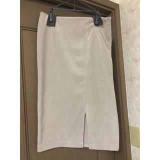 グリーンレーベルリラクシング(green label relaxing)のタイトスリットスカート(ひざ丈スカート)