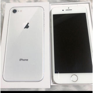 Apple - iPhone8 シルバー 64GB