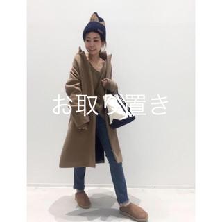 L'Appartement DEUXIEME CLASSE - 32 PARADIS(トラントドゥ パラディ) wool zip コート