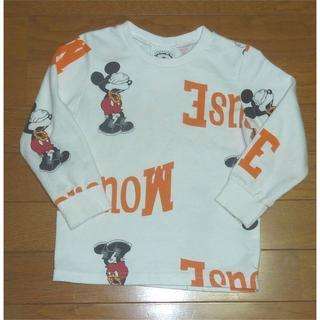 Disney - ディズニー ミッキーのTシャツ(長袖) サイズ110
