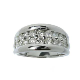 ダイヤモンド 1.03ct リング・指輪 Pt900プラチナ(リング(指輪))