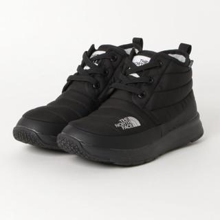 ザノースフェイス(THE NORTH FACE)の新品 ノースフェイス ヌプシ チャッカ 黒 25cm(ブーツ)