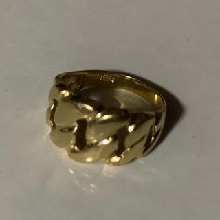 18K デザインリング ピンキーリング(リング(指輪))