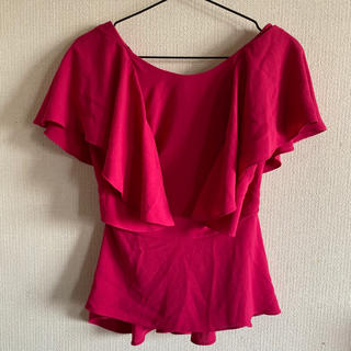 ザラ(ZARA)のZARA♡ピンクトップス(Tシャツ(半袖/袖なし))