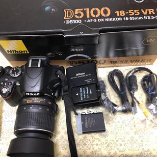Nikon - Nikon D5100 18-55mm 1:3.5-5.6 レンズセット
