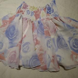 リエンダ(rienda)の♡rienda♡パステルシフォンスカート♡(ミニスカート)