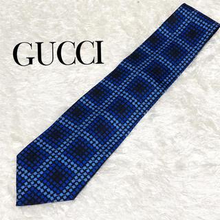 Gucci - GUCCI グッチ ネクタイ a67 結婚式 入社入学にオススメ