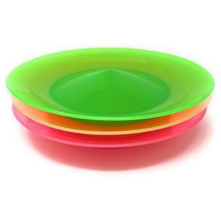 皿回し スピンクル 3枚セット(棒付)JUGGLE 4 ピンク・緑・オレンジ(スポーツ)