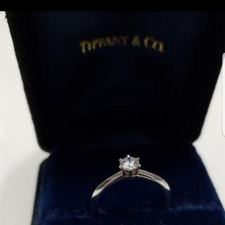 ティファニー(Tiffany & Co.)のtiffany pt950 ダイヤモンド0.3ct リング (リング(指輪))