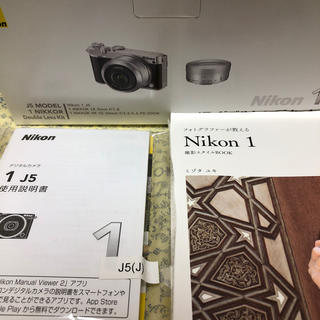 Nikon - Nikon ニコン Nikon1 J5 ダブルレンズキット 美品