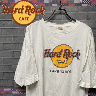 【レア】ハードロックカフェ☆ビックTシャツ ビックロゴ メンズ レディース(Tシャツ/カットソー(半袖/袖なし))
