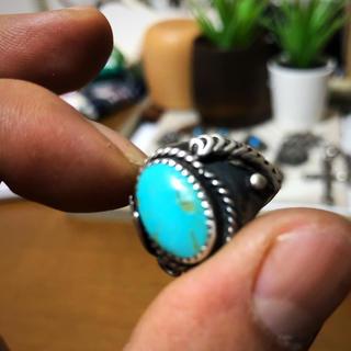 シルバーターコイズリング(リング(指輪))