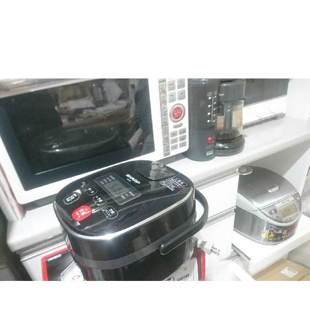 SHARP(シャープ)の炊飯器 炊飯ジャー 美品   他、冷蔵庫 洗濯機 スマホ/家電/カメラの調理家電(炊飯器)の商品写真