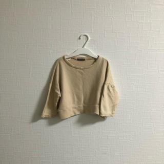 韓国子供服 薄手トレーナー