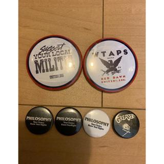 ダブルタップス(W)taps)のwtaps badge 大2個 小4個 計6個(その他)