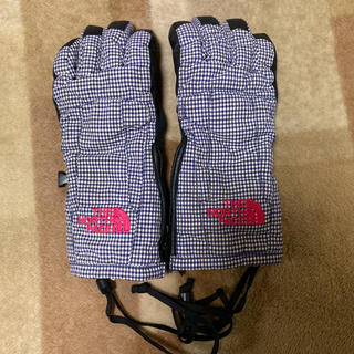 THE NORTH FACE - ノースフェイス スキー スノボー 子供用グローブ 手袋 ジュニア用S チェック