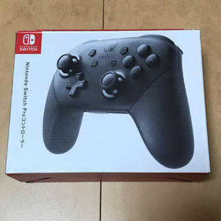 Nintendo Switch - 最終値下げ!スイッチ純正プロコントローラー黒 中古品☆