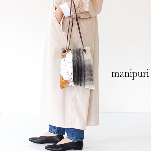 DEUXIEME CLASSE(ドゥーズィエムクラス)の週末限定お値下げ中 マニプリ manipuri プリントトートバッグ S レディースのバッグ(トートバッグ)の商品写真