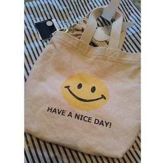 DEUXIEME CLASSE - ドゥーズィエムクラス SMILEY FACE SMILE BAG