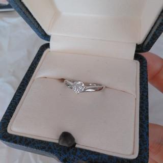 ミキモト(MIKIMOTO)のミキモト ダイアモンド指輪 0.36CT, E, VS2, Excellent(リング(指輪))