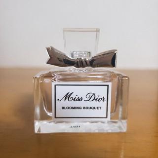 クリスチャンディオール(Christian Dior)の【ほぼ未使用!】ミスディオール  ブルーミングブーケ/5ml(香水(女性用))