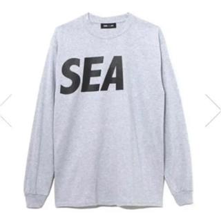Supreme - WIND AND SEA long sleeve cut-sewn グレー