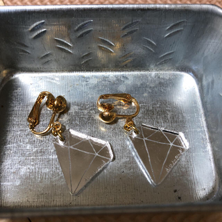 BEAMS - イヤリング ダイヤモンド