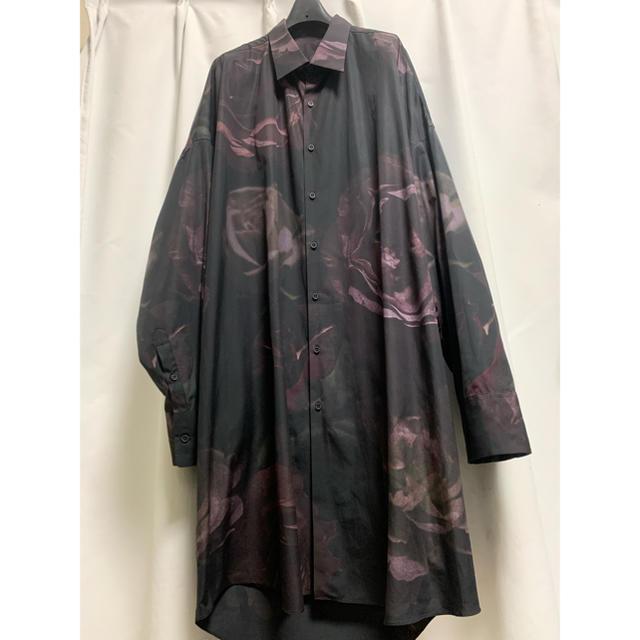 LAD MUSICIAN(ラッドミュージシャン)の17ss 花柄 ロングシャツ  メンズのトップス(シャツ)の商品写真