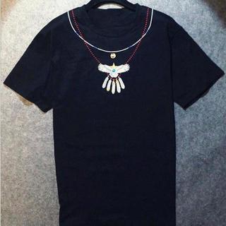 数量限定!黒L★Tシャツ ワシ刺繍 クール イーグル ゴローズ風 メンズ(Tシャツ/カットソー(半袖/袖なし))