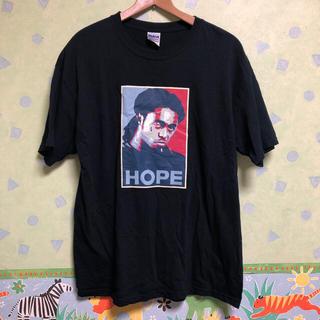 シュプリーム(Supreme)のリルウェイン lil wayne Tシャツ 黒 ステューシー ナイキ アディダス(Tシャツ/カットソー(半袖/袖なし))