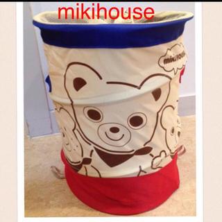 mikihouse - ミキハウス ノベルティ おもちゃ入れ