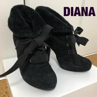 DIANA - 【美品】ダイアナ ショートブーツ