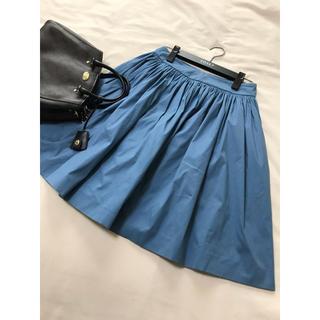 プラダ(PRADA)の美品 PRADA フレア スカート  プラダ(ひざ丈スカート)