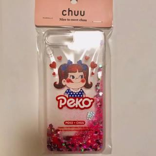 チュー(CHU XXX)のchuu ぺこちゃんiPhoneケース(iPhoneケース)