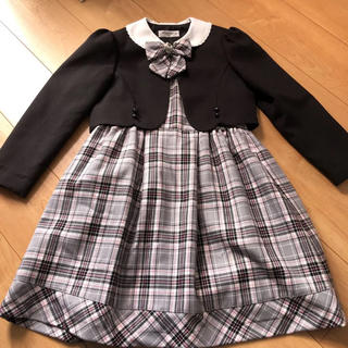 Miachacra 女の子 ワンピース スーツ 130