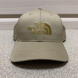THE NORTH FACE - 新品タグ付き ノースフェイス キャップ 帽子 メンズ ベージュ 男女兼用