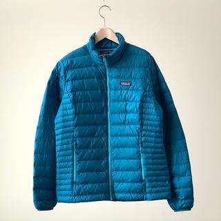 パタゴニア(patagonia)のPatagonia パタゴニア ダウン セーター ジャケット M ブルーdown(ダウンジャケット)