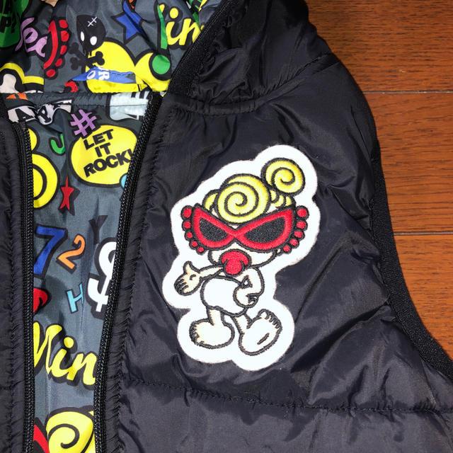 HYSTERIC MINI(ヒステリックミニ)のヒスミニ ベスト90 美品  キッズ/ベビー/マタニティのキッズ服男の子用(90cm~)(ジャケット/上着)の商品写真