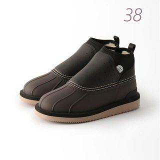 ドゥーズィエムクラス(DEUXIEME CLASSE)のDeuxieme Classe SUICOKE boots 38 ブラック(ブーツ)