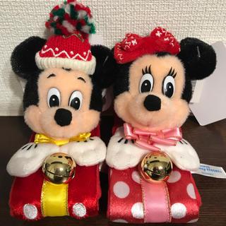 Disney - ぬいぐるみバンド ディズニー セット クリスマス