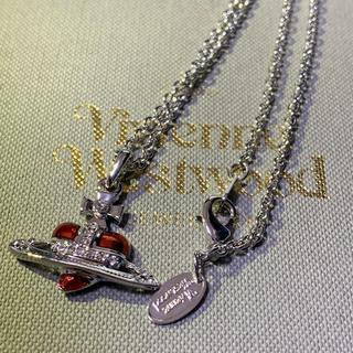 Vivienne Westwood - 即購入OK ハートネックレス 赤