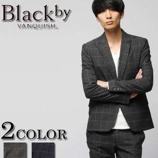 ヴァンキッシュ(VANQUISH)の定価20530円新品未使用!black  by vanquish ジャケット(テーラードジャケット)