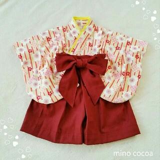 handmade baby HAKAMA 70-80cm