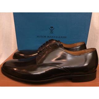 SUTOR MANTELLASSI - 新品定価12万程 sutor mantellassi ガラスレザー  革靴