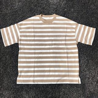 GU - GU  半袖 ボーダーTシャツ XL