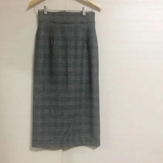 Spick and Span - 新品同様美品 スピックアンドスパン  千鳥柄ロングスカート